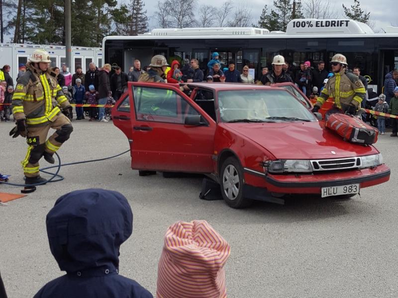 Blåljus Tyresö Special – Trafiksäkerhetsdagen