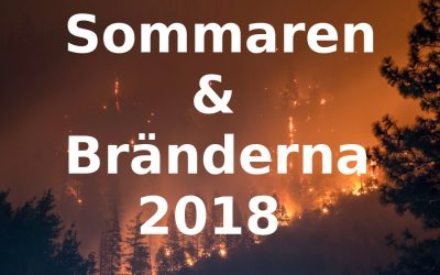 Sommaren & Bränderna 2018